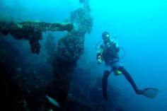Diving Tulamben, Bali.