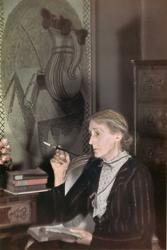 Virginia Woolf by Gisèle Freund, 1939 Private Collection © Gisèle Freund/IMEC/Fonds MCC