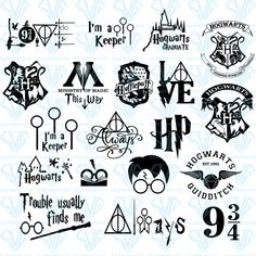 Hery Potter, Harry Potter Free, Harry Potter Stickers, Harry Potter Printables, Harry Potter Shirts, Harry Potter Tattoos, Harry Potter Clip Art, Harry Potter Symbols, Potter Facts