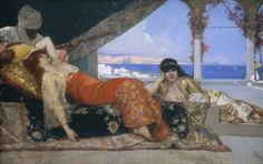Jean Joseph Benjamin Constant, 'The Favorite of the Emir,' c. 1879, National Gallery of Art, Washington D.C.