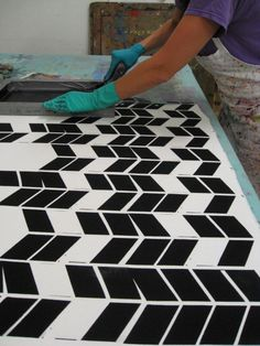 Repeating Pattern work at Lillstreet