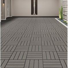 Outdoor Tiles, Outdoor Flooring, Outdoor Decking, Patio Tiles, Diy Flooring, Outdoor Play, Wood Patio, Concrete Patio, Stamped Concrete
