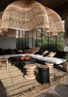 Home Interior Design, Interior Styling, Interior And Exterior, Interior Decorating, Design Interiors, Casa Cook, Rattan, Living Spaces, Living Room
