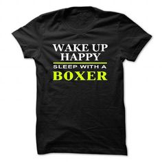 SLEEP WITH A BOXER T Shirts, Hoodies. Check price ==► https://www.sunfrog.com/LifeStyle/SLEEP-WITH-A-BOXER-6723-Black-25589751-Guys.html?41382