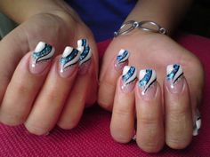 26 creative nail designs flowers do it yourself ledufa incredible nail designs flowers do it yourself 6 following inspiration article solutioingenieria Image collections