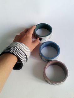 Handmade polymer clay bracelets