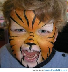 1000+ images about Lion King Face Paint on Pinterest ...