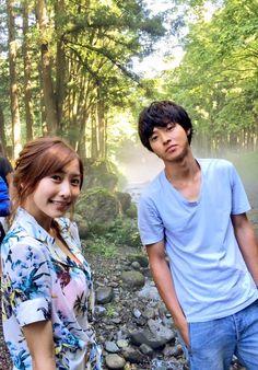 """Hinako Sano x Kento Yamazaki, J drama """"Sukina hito ga iru koto (A girl & 3 sweethearts)"""", from Jul/11/2016"""