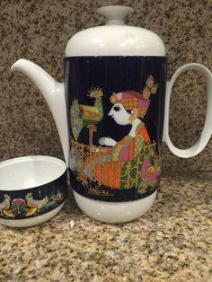 Rosenthal Studio Linie Germany Ambrogio Pozzi Tea Pot With Cup With Signature | eBay