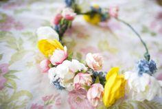 Voor bloemenprinsen en prinsessen / For little flower princes and princesses - via bleubird Vintage