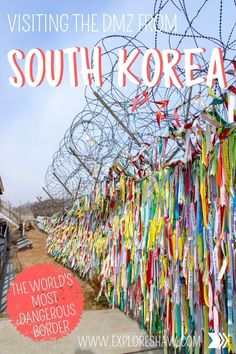 Everything you need to know about visiting the DMZ from South Korea. As the most dangerous border in the world, this is a highlight of any trip to Seoul. #SouthKorea #NorthKorea #Asia #DMZ via @exploreshaw