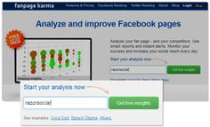 5 great websites to analyze and help improve your FB page reach