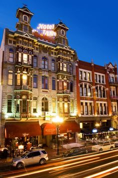 Gaslamp District. San Diego, CA  I would love to go back and visit! My time spent researching immigration issues didn't allow for much time in the Gaslamp District though.
