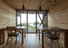 Image 20 of 48 from gallery of Hostal Ritoque / Alejandro Soffia + Gabriel Rudolphy. Photograph by Juan Durán Sierralta Gabriel, Contemporary Architecture, Design Process, Dining Area, Chile, Interior Decorating, Floor Plans, House, Flooring