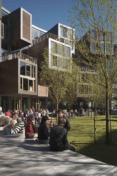 Tietgen Dormitory (student housing), Lundgaard & Tranberg Arkitekter