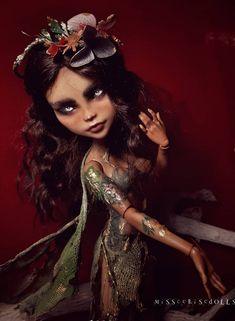 custom Cleo Custom Monster High Dolls, Barbie Dolls, Poppies, Wonder Woman, Women, Poppy, Wonder Women, Barbie Doll, Poppy Flowers