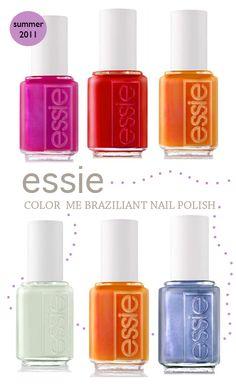 "Essie nail polish!  My go-to favorite: ""French affair"""
