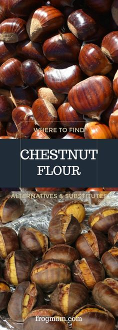Chestnut flour is on