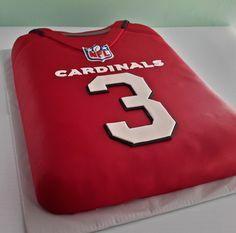 NFL Jerseys Wholesale - Arizona Cardinals Carson Palmer jersey cake! | Arizona Cardinals ...