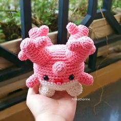 If you would like a blue Corsola, please send me a note for a custom request. - Made from cotton thread. - Secured safety eyes. - High-quality polifill. - Felt for mouth. - Size: Length: 12cm Width: 10cm Height: 13cm This is a READY TO SHIP item so as soon as your payment has been made, i will ship it out within 1-3 days. Please read the shop policies carefully before purchasing! Due to the difference between different monitors, the picture may not reflect the actual color of the item. We...