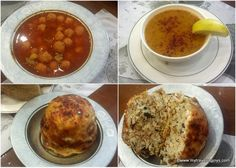 Turkish dishes at Çiya: a unique bulgur meatball soup and perde pilavi, a special rice dish from southeastern Turkey. #Istanbul