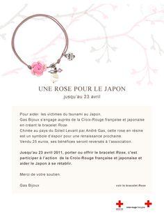 Gas : Rose pour le Japon