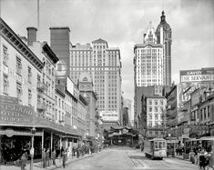 "1908   New York . "" Cortlandt Street """