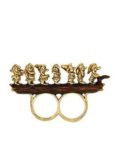 Disney Couture 7 Dwarves Ring at asos.com