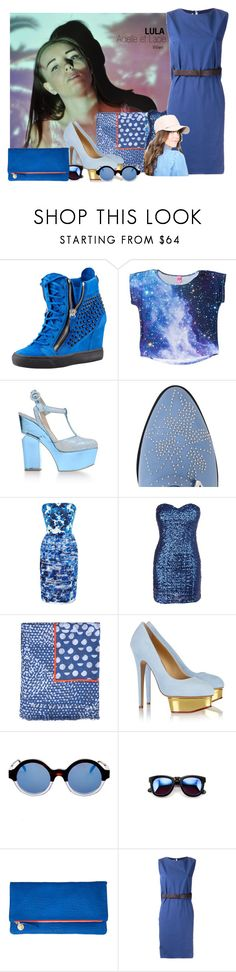 """LULA: Vienna"" by aciellelacie ❤ liked on Polyvore featuring Giuseppe Zanotti, Nicholas Kirkwood, Chloé, Prabal Gurung, Marc by Marc Jacobs, Charlotte Olympia, Illesteva, Wildfox, Clare V. and Brunello Cucinelli"