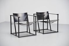 Pastoe Fm61 Cubic Chairs Radboud Van Beekum, 1980   From a unique collection of antique and modern lounge chairs at https://www.1stdibs.com/furniture/seating/lounge-chairs/