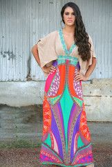 This is one of my favorites on The Paisley Rooster: Bohemian Rhapsody Maxi Dress: LOVE!