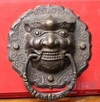 Vintage Sino Tibetan Large Drop Pull or Door Knocker Item252