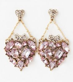 Betsey Johnson Pink Hearts