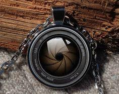 Camera pendant Camera necklace Camera jewelry by Aranji on Etsy