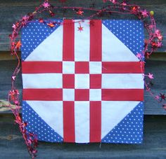 The Red, White and Blue Blog Hop