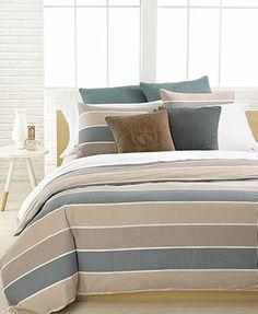 "Lacoste Bedding, Moss Stitch 18\"" Square Decorative Pillow"