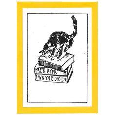 Welsh Cat Bookplates