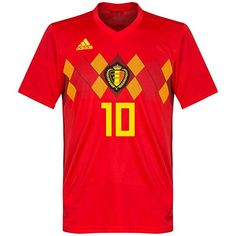 8c2d31db2 Belgium Home Hazard Jersey 2018 2019 (Official Printing) - M World Cup 2018