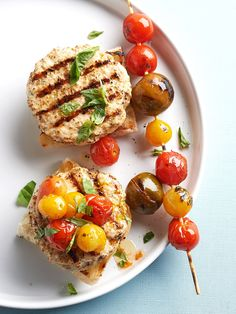 Take backyard burgers from monotonous to memorable with these next-level grilled burger recipes. When you've had your fill of the usual beef burgers from the grill, try our recipes for grilled chicken burgers, turkey burgers, veggie burgers, and sliders, too. #grillingtips #summergrilling #burgerrecipe #bestburgerrecipe #grillinghacks #bhg Grilled Chicken Burgers, Grilled Burger Recipes, Best Burger Recipe, Healthy Grilling Recipes, Turkey Burgers, Grilled Chicken Recipes, Real Food Recipes, Cooking Recipes, Veggie Burgers