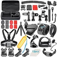 2.Top 10 Best GoPro Accessories Kits Reviews in 2016