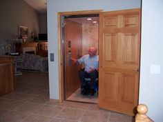 Home Elevator for wheelchair users that looks like a closet :) Accessible to everyone especially the elderly, those withe injury, and those on wheelchairs. http://www.elevatormalaysia.blogspot.com