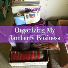 Kerrie, Jamberry Independent Consultant: #Organizing My #Jamberry #Business