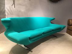 Rare Hans Erik Johansson Sofa | From a unique collection of antique and modern sofas at https://www.1stdibs.com/furniture/seating/sofas/