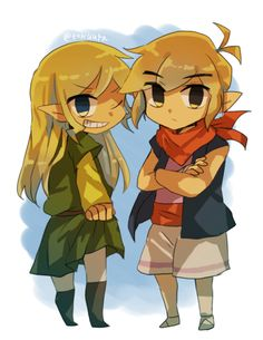If Link and Tetra switched. This actually looks really nice.