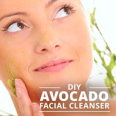 This all-natural avocado cleanser will purify and exfoliate your face without dangerous and unnecessary chemicals.