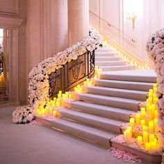 Your work is amazing @jeffleatham ✨ Stunning stairway at the @fsparis ✨ Photography by: @audreyparisphoto  #romantic #flowers #stunning #wedding #inspiration #love #candles #amazing #dream #weddings #beautiful