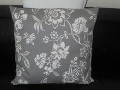 LUXURY FEATHER FILLED LINEN HELOUISE CUSHION 50 x 50cm, FRENCH CHIC, GREY Available from http://stores.ebay.co.uk/Dolly-Daydream-Boutique https://www.facebook.com/maisonroyale.co.uk