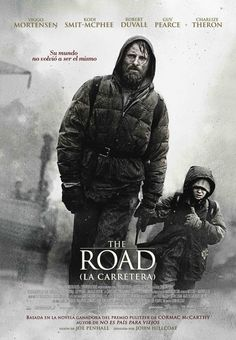 """La Carretera"" (The Road, 2009) Muy buena adaptación de la novela de Cormac McCarthy. Película estadounidense, dirigida por John Hillcoat e interpretada por Viggo Mortensen, Kodi Smit-McPhee, Robert Duvall, Charlize Theron..."
