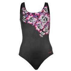 Zoggs   Zoggs Swim Safari Scoopback Swimsuit Ladies   Swimsuits