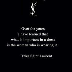 Yves Saint Laurent quote